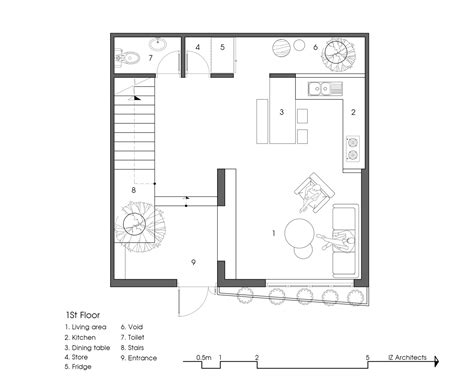 9 x 6 bathroom layout gallery of 7x7 house iz architects 26
