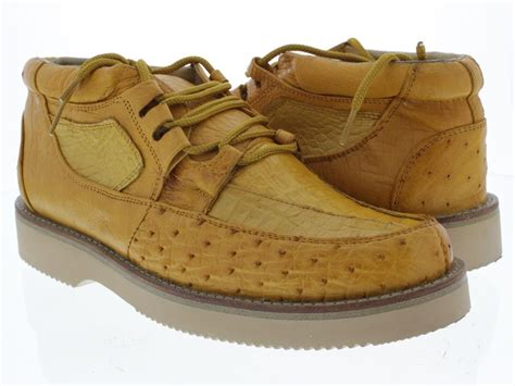 ostrich shoes s yellow genuine crocodile ostrich tennis leather