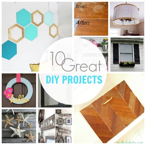 dyi projects show tell no 53 10 great diy projects tauni co