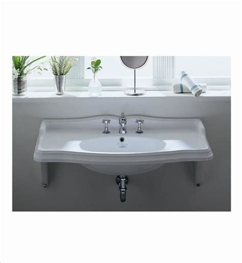 bathroom wall sinks whitehaus ar864 mnslen wall mount bathroom sink