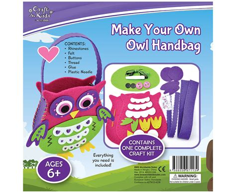 Make Your Own Detox Shoo by Craft For Make Your Own Owl Handbag Ebay