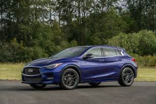 Infiniti Qx30 2017 Infiniti Qx30 Starts At 30 945 Tops Out At 38 695