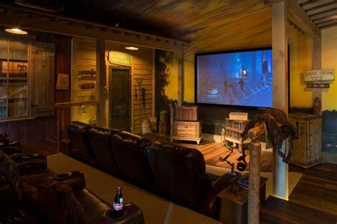 Tuscan Villa   Eclectic   Home Theater   houston   by Ellis Custom Homes LLC