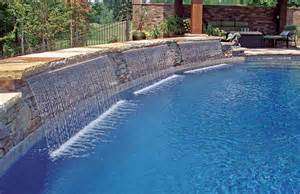 pool fountains and waterfalls inspirations modern swimming pools decorations with fountains design ideas swimming pool cascade