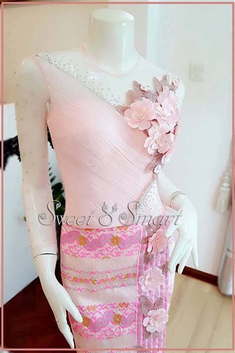 Baju Claudy Blouse 318 best images about myanmar dress on fashion