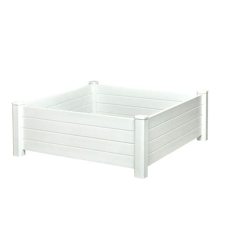 home depot raised bed composite elevated bed raised garden beds garden center the home depot