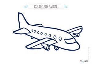 Coloriage Avion Momes Net