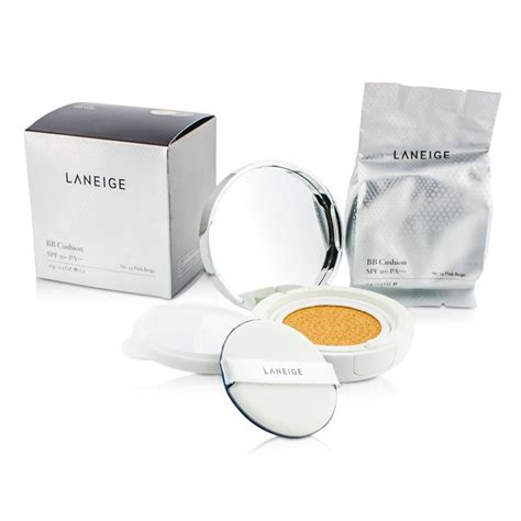 Laneige Bb Cushion Whitening Spf 50 Complete Set laneige bb cushion foundation spf 50 with refill no 14 pink beige fresh
