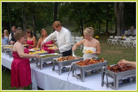wedding supplies rentals rib and loin chattanooga barbecue catering