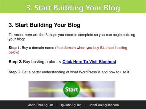 tutorial wordpress hosting tutorial how to setup a blog with bluehost wordpress hosting