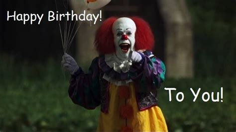 Clown Birthday Meme