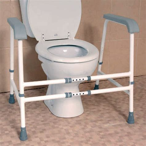 bathroom aids for disabled nuvo width adjustable toilet frame toilet frames
