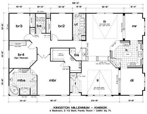 Floor Plans In by Wide Mobile Home Floor Plans Mobile Home Floor