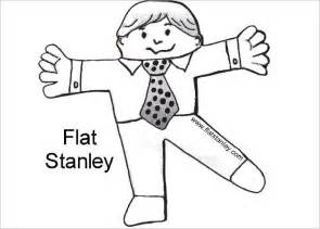 Printable Flat Stanley Template by Flat Stanley Templates Free Premium Templates