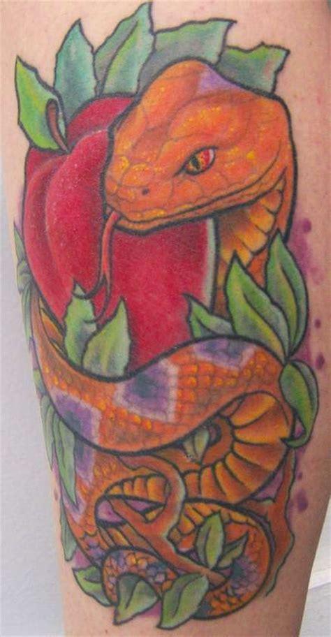 snake and apple tattoo designs snake apple design tattooshunt
