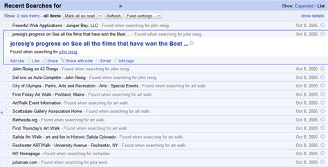 S Search History Search History Rss