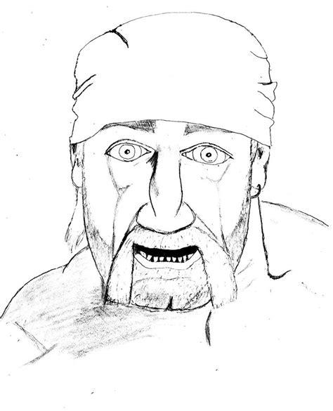 hulk hogan coloring pages coloring pages