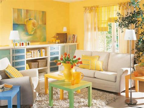 luminous interior design ideas and shining yellow color