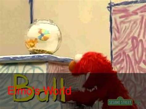 Il Mondo Di Elmo Il Bagno by Elmo S World Song