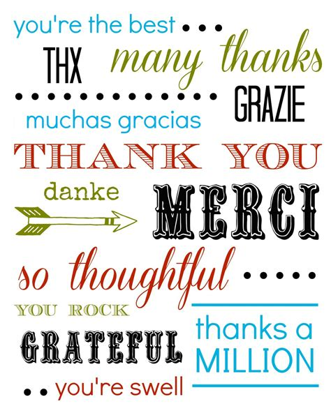 printable thank you quotes free printable thank you card tauni co