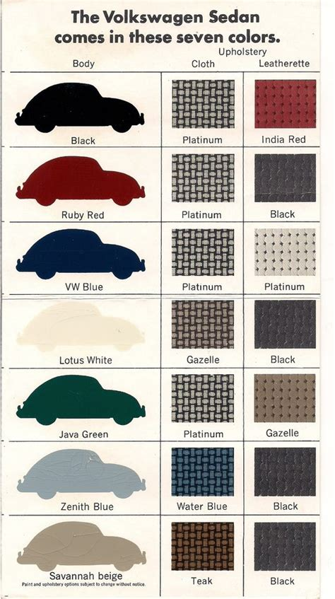 67 beetle it comes in 7 colors volkswagen new babies and