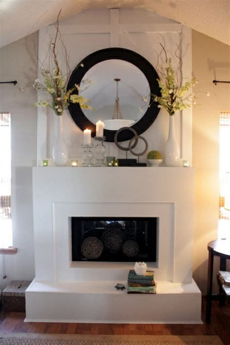 fireplace decor ideas modern spring decorations for the fireplace mantel fresh ideas