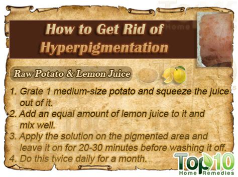 how to get rid of hyperpigmentation top 10 home remedies
