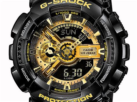 G Shock Gshock Ga 110 Black Gold casio g shock ga 110gb 1aer black gold available now