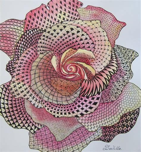 zentangle pattern rose 1768 best images about tangled in zentangles on pinterest