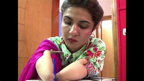 disabled pakistani woman inspires  motivational speaker