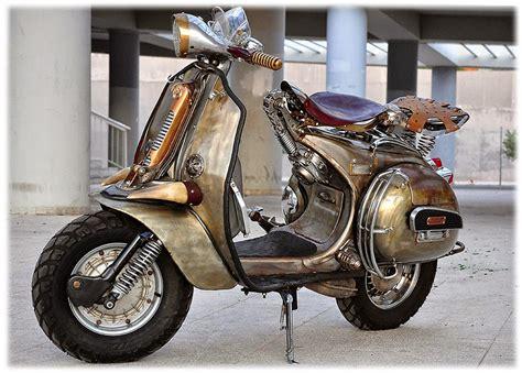 modifikasi vespa bajaj classic vespa scooters modified