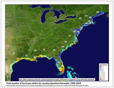 us weather map hurricane tropical cyclone climatology