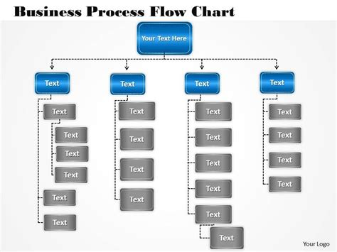 1013 Busines Ppt Diagram Business Process Flow Chart Powerpoint Template Business Process Flow Template