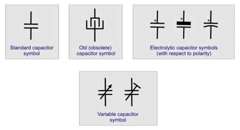 capacitor voltage transformer symbol electronics