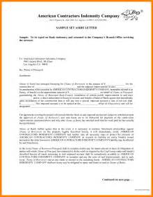 9 indemnity letter protect letters