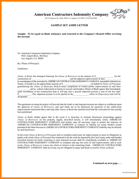 Template Letter Of 9 Indemnity Letter Protect Letters