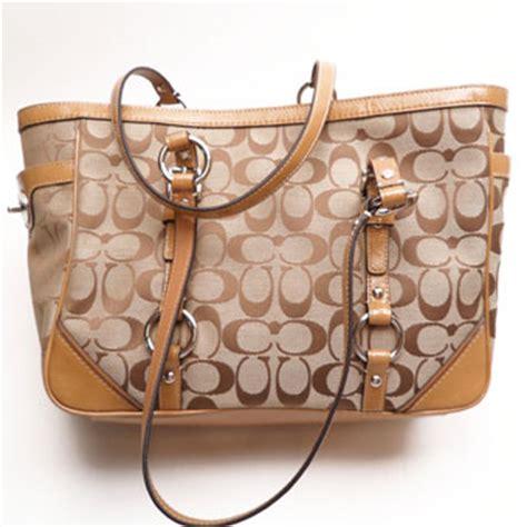 bags harry hines brand new coach classic signature handbag