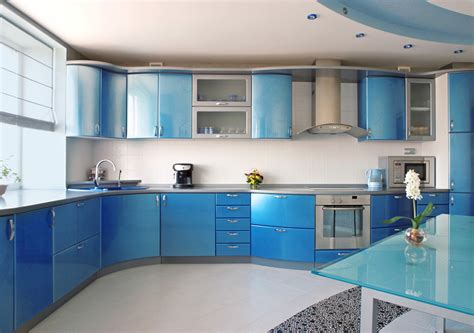 blue kitchen design 27 blue kitchen ideas pictures of decor paint cabinet
