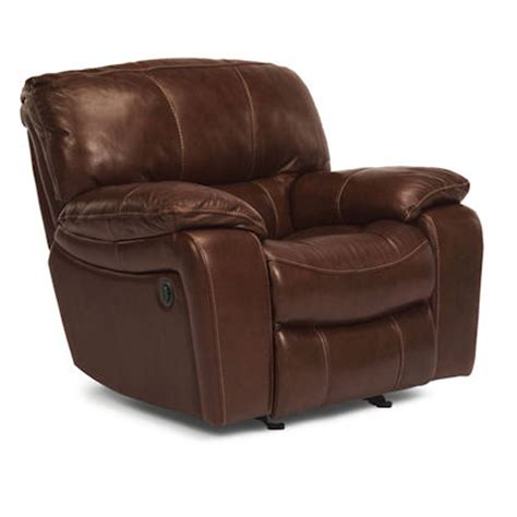 Flexsteel Power Recliners flexsteel 1241 50p grandview power recliner discount furniture at hickory park furniture galleries