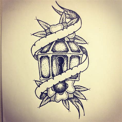 chest tattoo drawings treasure chest sketch by ranz chest