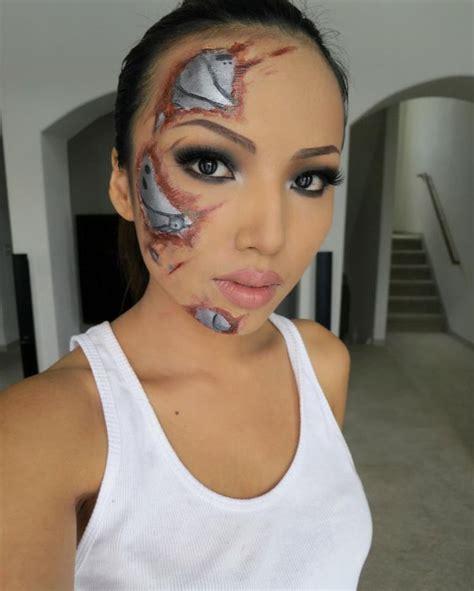Tutorial Makeup Robot | robot makeup makeup tattoos pinterest