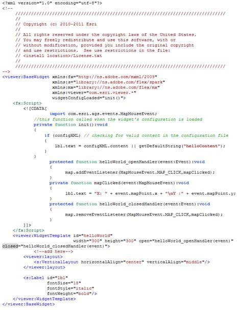 tutorial arcgis viewer for flex kingman internship arcgis viewer for flex creating a