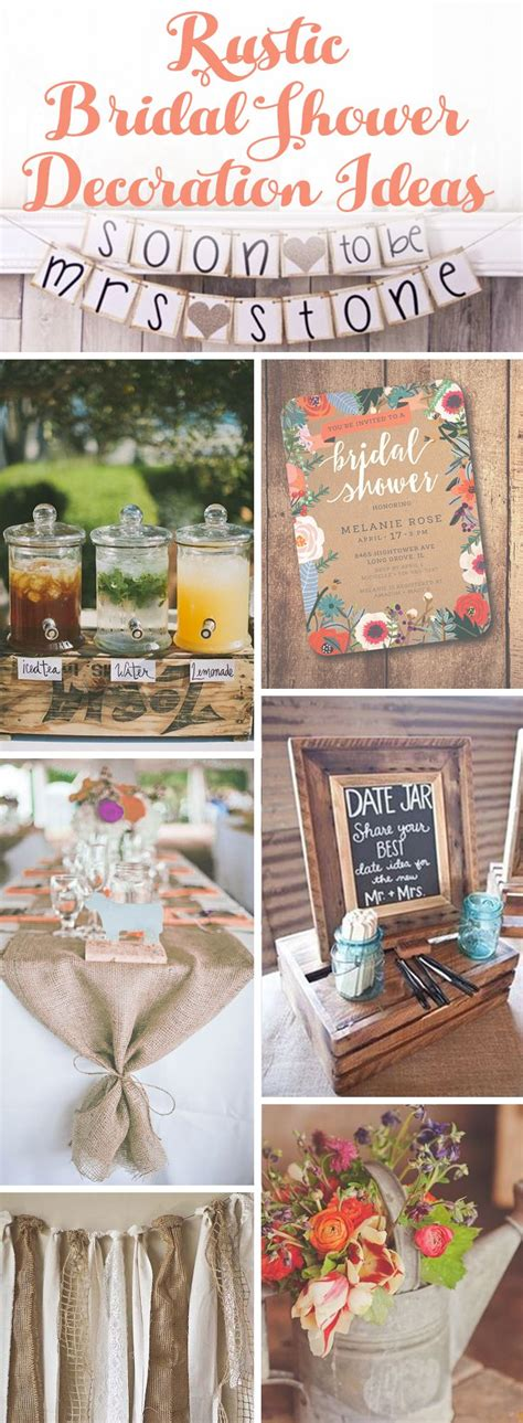 1000 images about wedding shower ideas on pinterest collections of rustic country bridal shower ideas