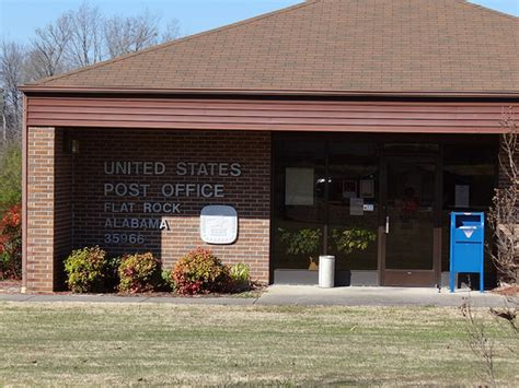 Flat Rock Post Office by Usps Flat Rock Al U S Post Office 21447 Al Highway