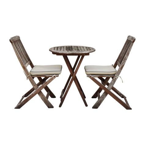 54% OFF   Broyhill Solid Wood Round Dining Set / Tables