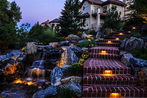 Landscape Lighting Denver Denver Outdoor Lighting Landscape Connection