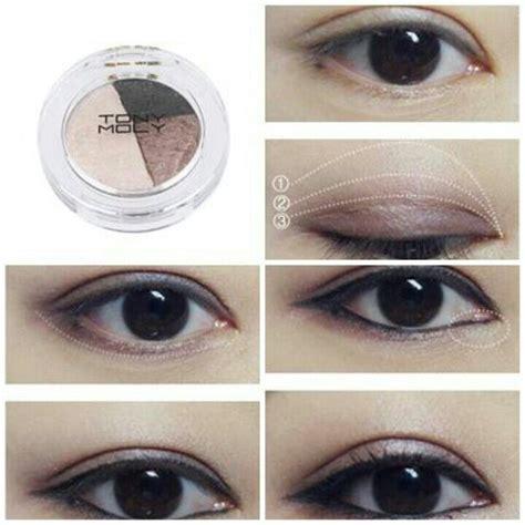 tutorial makeup soft korea korean eye makeup step by saubhaya makeup