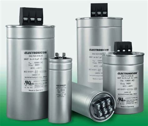 capacitor filter ac or dc e62 3ph series upe inc