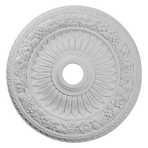 fypon ceiling medallion st georges 32 5 ekena millwork cm23be bellona ceiling medallion