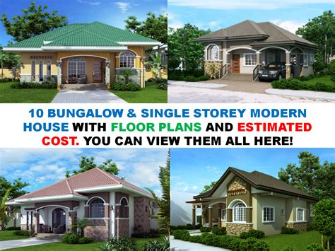 innovation idea 2 house plans with estimated price to build bungalow house plans with cost to build home design plan